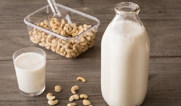 sữa hạt điều, cách làm sữa hạt giảm cân