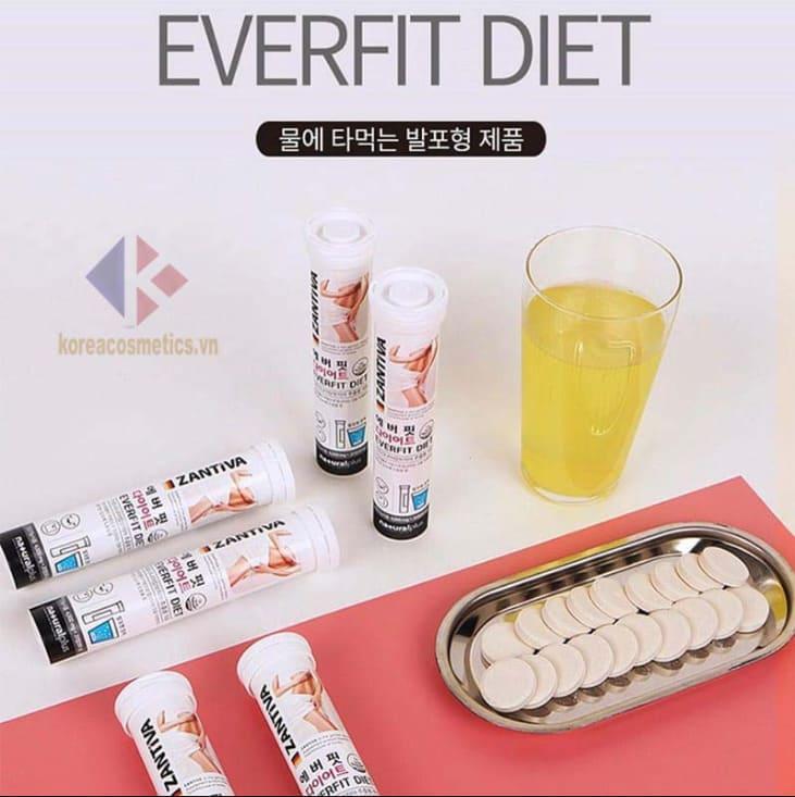[CẢNH GIÁC] Viên sủi giảm cân Zantiva Hàn Quốc có tốt không? Sủi giảm cân Zantiva Hàn Quốc có tác dụng phụ không?